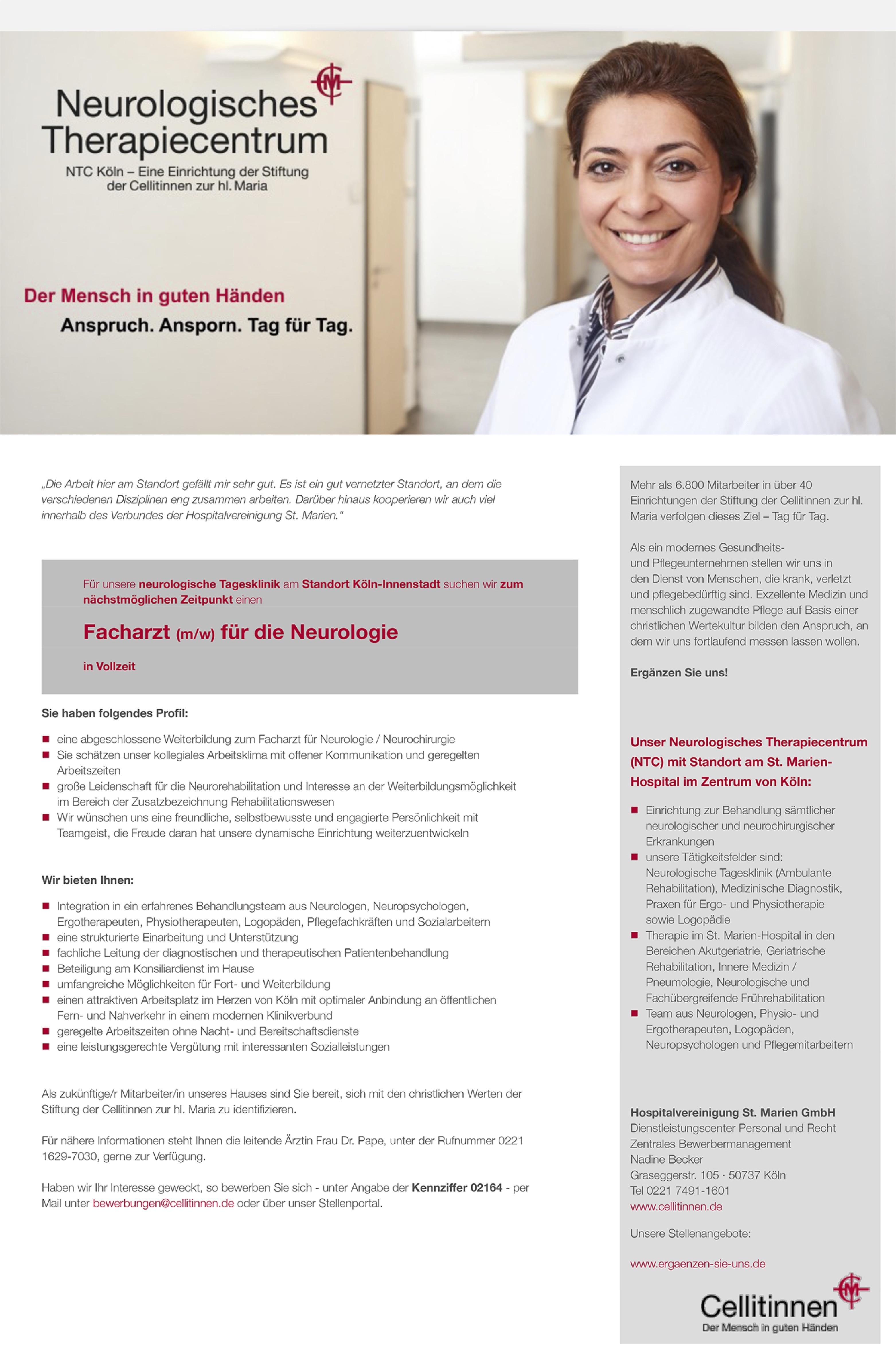 Facharzt (m/w) für die Neurologie